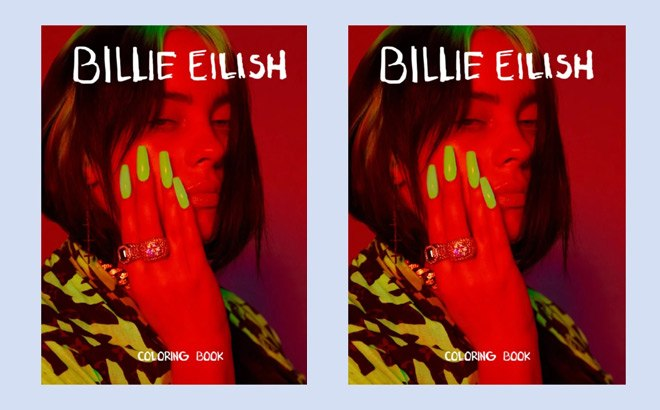 - FREE Billie Eilish Printable Coloring Book