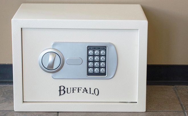 Buffalo Steel Portable Safe ONLY $44.99 + FREE Shipping (Reg $63) - Today Only!