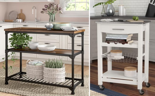 Up to 66% Off Kitchen Carts & Islands at Wayfair (Starting at JUST $92!)