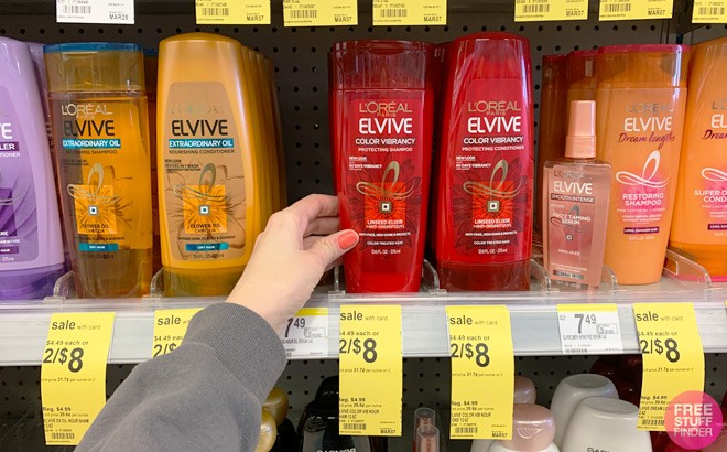 L'Oreal Elvive Hair Care ONLY $2 Each at Walgreens (Reg $5) - Just Use Your Phone!