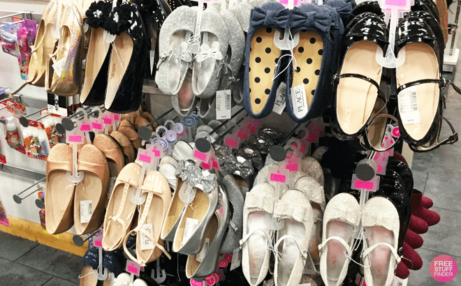 Boys' and Girls' Footwear Up to 40% Off at The Children's Place - Starting at ONLY $3!