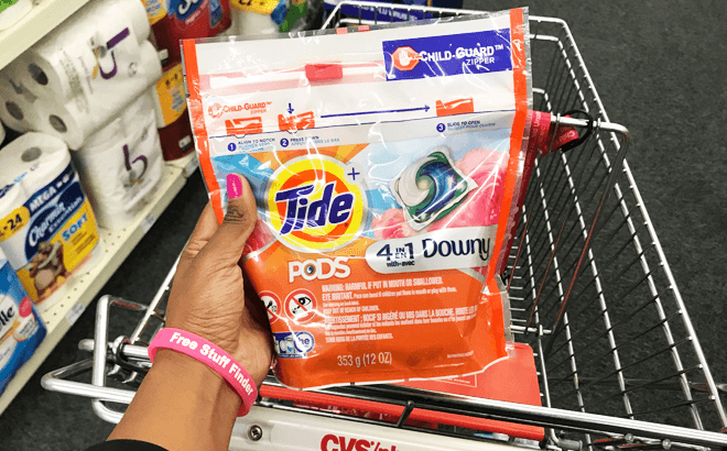 Tide Pods 12-16 Count Packs ONLY $2.94 Each at CVS (Regularly $7) - Print Now!