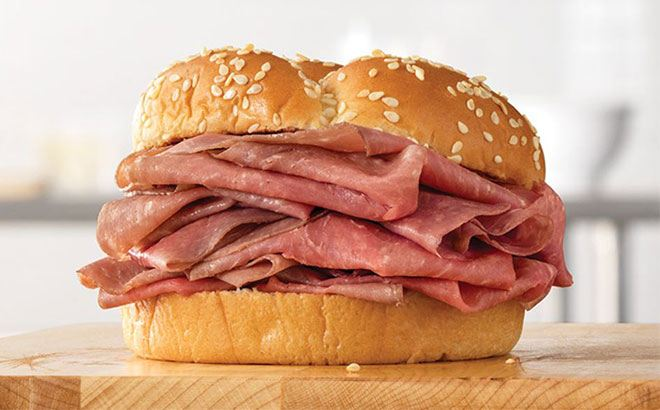 Arby's Roast Beef Sandwiches 5 for $10 (Drive-Thru Only!)