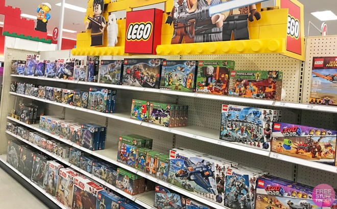 Buy One Get One 40% Off LEGO Sets at Amazon - Starting at JUST $6.36 Each!