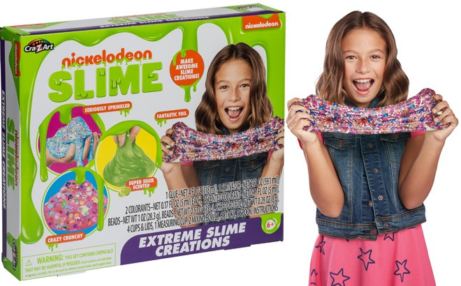 Nickelodeon Extreme Slime Creations Kit for ONLY $5.97 at Walmart.com (Regularly $10)
