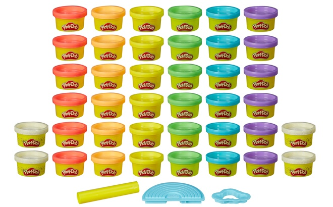 Play-Doh Ultimate Rainbow 40-Count Pack for ONLY $14.94 + $10 Walmart eGift Card