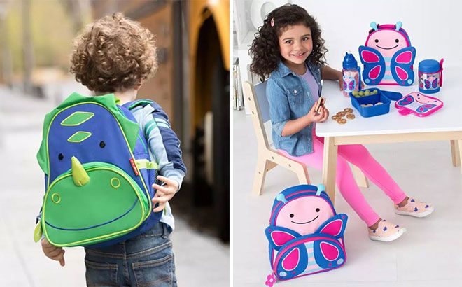 Skip Hop Zoo Lunch Bags & Backpacks Starting at JUST $9 Each + FREE Shipping