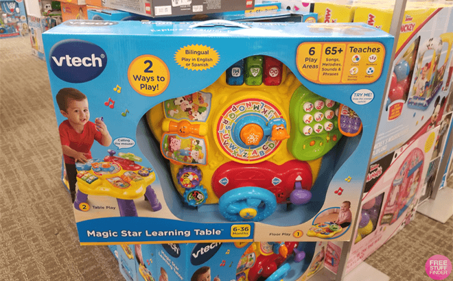 Vtech Magic Star Learning Table Only 25 At Walmart Com Regularly 40