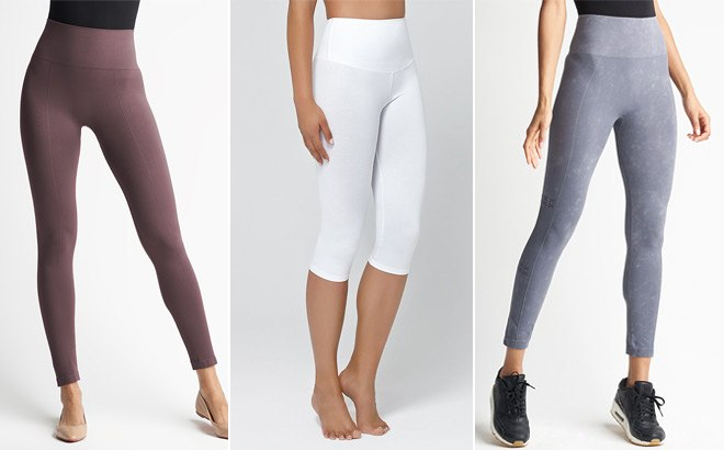 Body Slimming Leggings for ONLY $19.99 at Zulily (Regularly $76) – Many Styles!
