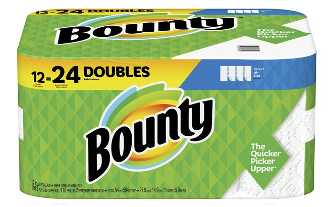 HURRY! Bounty & Viva Paper Towels In Stock NOW at Walmart.com (Double Roll Packs!)