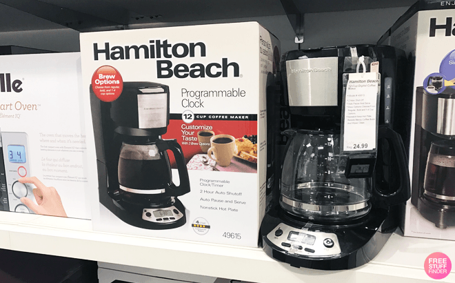 Keurig, Cuisinart & Hamilton Beach Coffee Makers From $16 at Kohl's - Today Only!