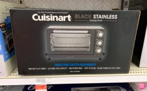 Cuisinart Toaster & Pizza Oven ONLY $59.99 + FREE Shipping (Reg $120) - Today Only!