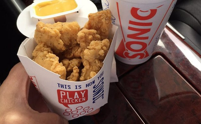 Small Jumbo Popcorn Chicken for JUST 99¢ at Sonic Drive-In (Today Only!)