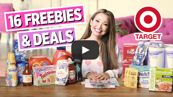 VIDEO: 16 FREEBIES & Deals at Target This Week (4/14 – 4/20)