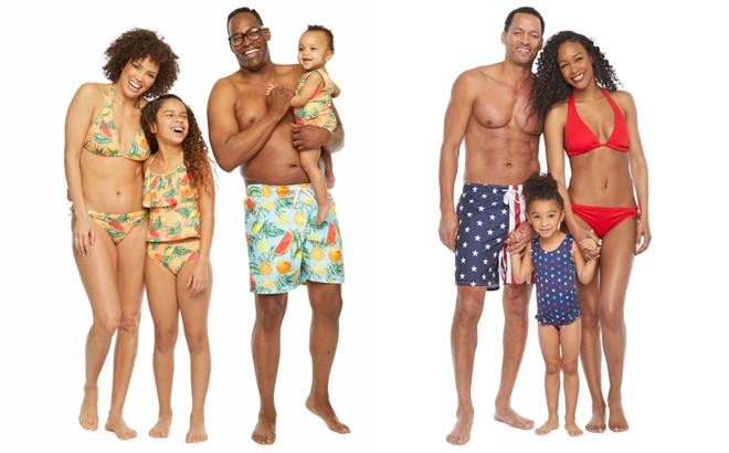 Matching Family Swimsuits at JCPenney - Starting at ONLY $4.49 (Regularly $14)
