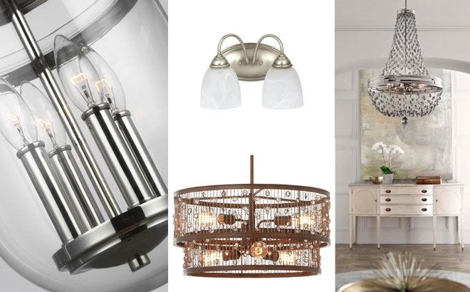 Up to 85% Off Pendant, Chandelier, Vanity & Sconce Lighting (Today Only!)