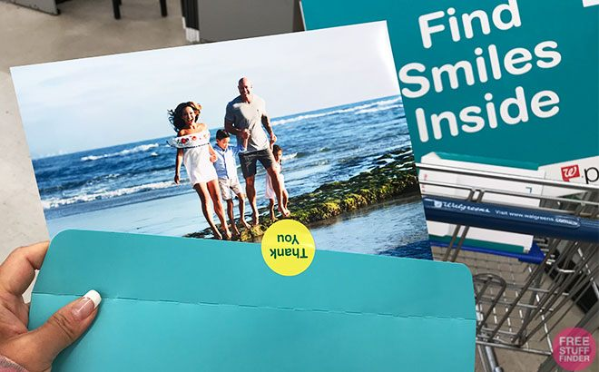 FREE 8×10 Photo Print from Walgreens for Sprint Customers