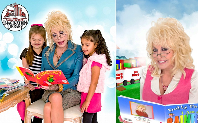 FREE Kids' Book Every Month From Dolly Parton's Imagination Library - Enroll Now!