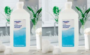 Equate Isopropyl Alcohol 2-Pack ONLY $3.92 (Just $1.96 per Bottle) - In Stock Now!