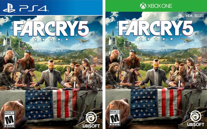 Far Cry 5 for PS4 or Xbox One JUST $9.99 at Best Buy (Regularly $40)