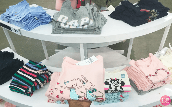 Extra 50% Off Clearance at Gap Factory - Kids' Apparel Starting at ONLY $5.97!