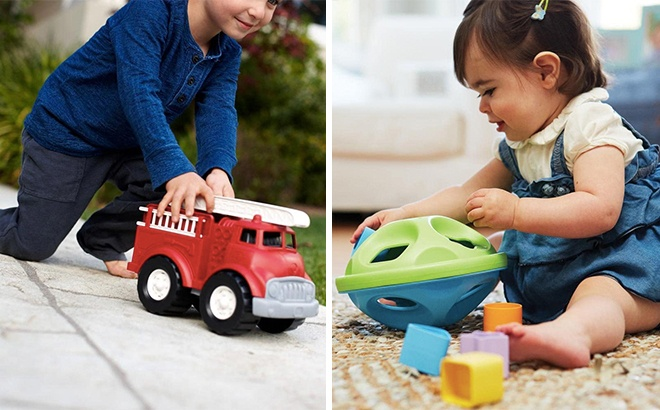 Up to 63% Off Green Toys From JUST $4.19 (Highly-Rated) - Today Only!