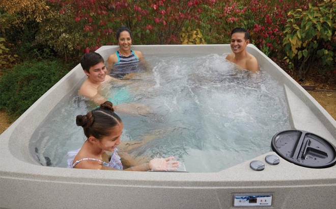 Up to 50% Off Select Saunas and Hot Tubs + FREE Shipping (Today Only!)