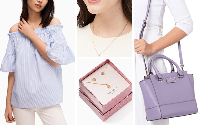 Up to 72% Off Kate Spade Apparel, Bags, and Accessories - Starting at ONLY $19.99!
