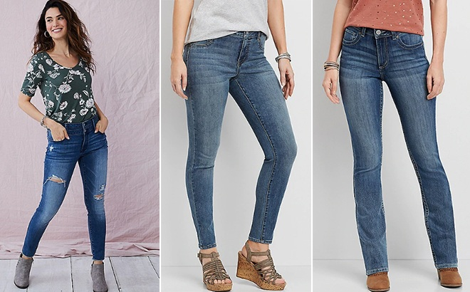 Maurice's Women's Jeans JUST $10 + FREE Shipping (Regularly $44) - Today Only!