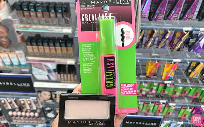 Maybelline Great Lash Mascara & Eyeshadow ONLY $1.49 Each at CVS (Regularly $6)