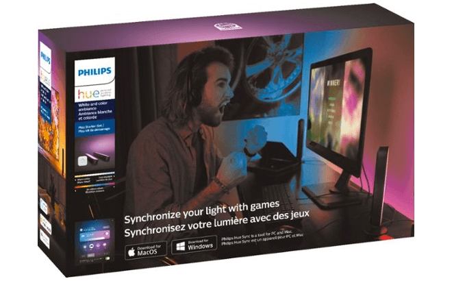 Philips Hue Synchronized Gaming Lights ONLY $119 + FREE Shipping (Reg $150)
