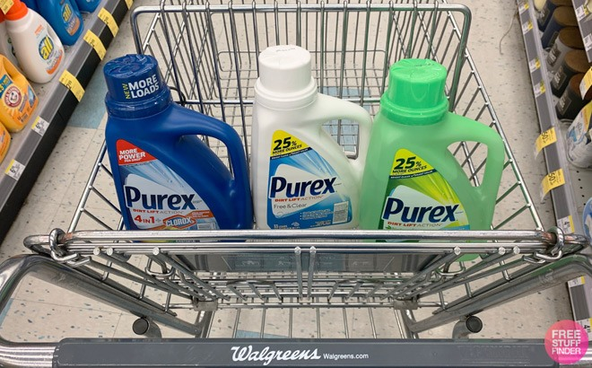 Purex Liquid Laundry Detergent ONLY $1.50 Each at Walgreens (Regularly $6)