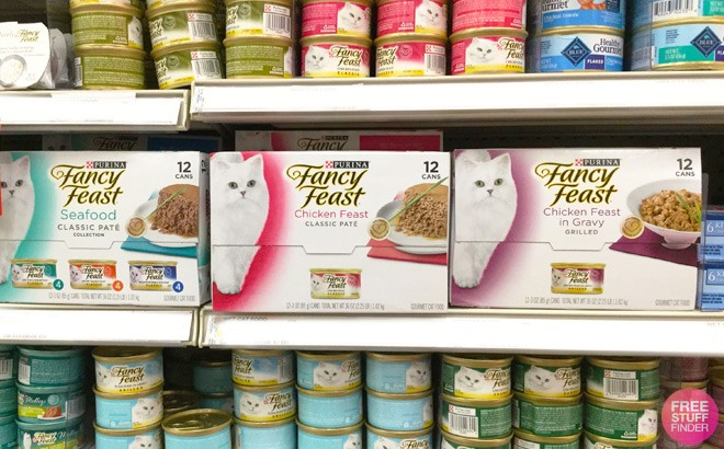 Purina Fancy Feast Cat Food 12-Pack From ONLY $7.75 at Amazon (Just 64¢ per Can)