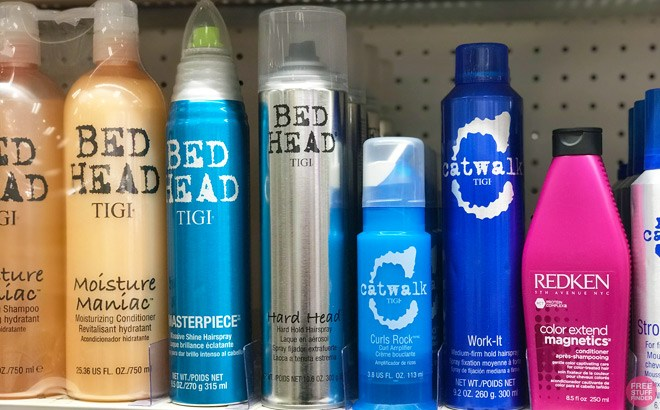 TIGI, Eva NYC & Bumble and Bumble Hair Care Products 50% Off - From ONLY $3.99