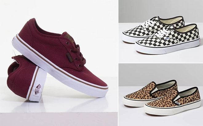 Vans Men's & Women's Shoes Starting at JUST $18 (Reg $55) - Today Only!