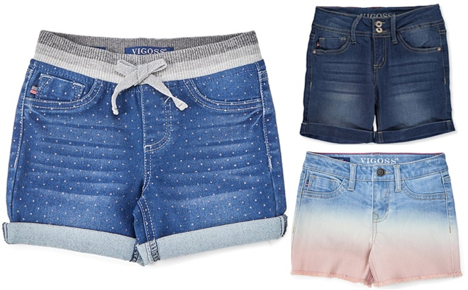 Vigoss Girls' Denim Shorts JUST $9.99 at Zulily (Regularly $26) - Today Only!