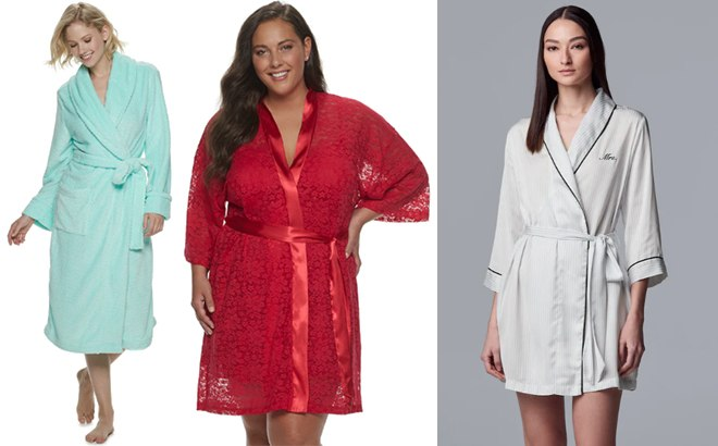 Women S Robes From Only 10 50 Free Shipping At Kohl S Reg 50 Lots Of Styles