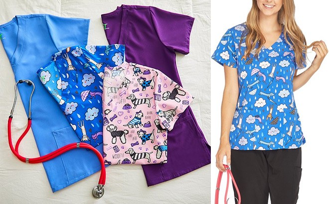 Women's Scrubs Starting at ONLY $9.99 (Regularly $36) - Many Styles!