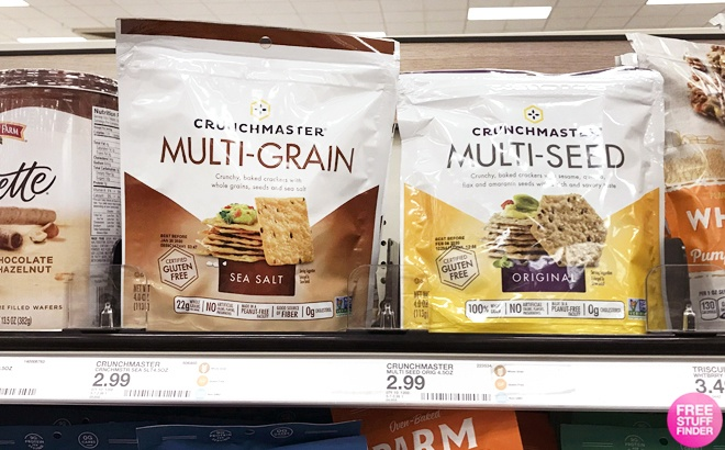 Crunchmaster Crackers for JUST 14¢ at Target (Reg $3) – Print Coupon Now!