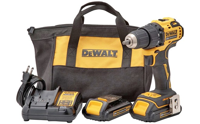 Dewalt Atomic Cordless Compact Drill Driver Set JUST $99 + FREE Shipping (Reg $159)