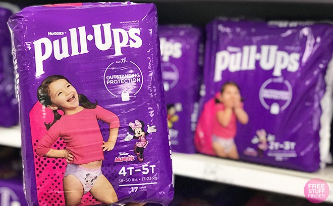 Huggies Pull-Ups Jumbo Pack Training Pants ONLY $4.49 at Target (Regularly $9)