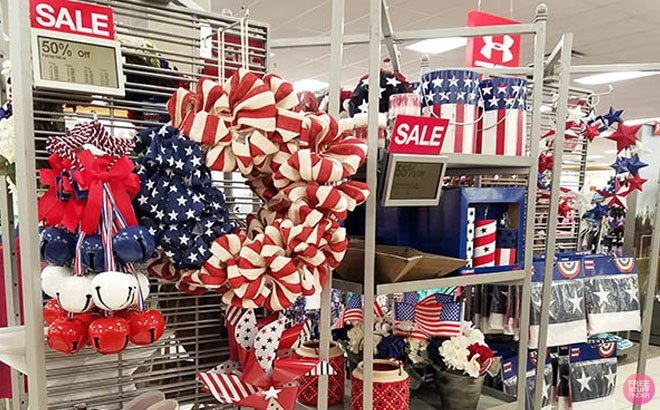 Patriotic Home Decor and Accessories From JUST $3.99 at Kohl's - Lots of Designs!