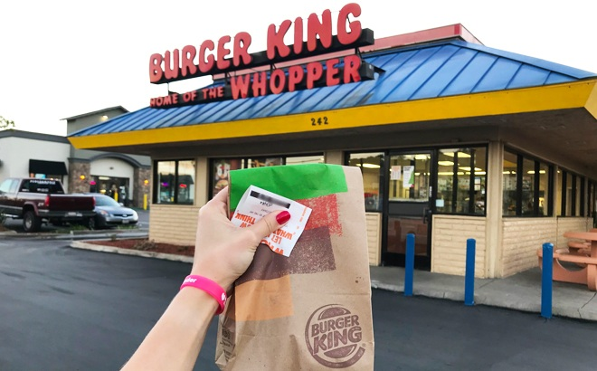 Burger King Crispy Chicken Sandwich for ONLY $1 with Any Order via Burger King App!