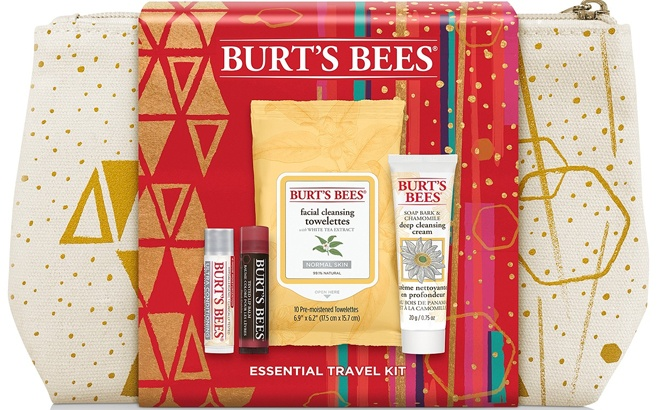 Burt's Bees 5-Piece Essential Travel Set for JUST $8.93 at Macy's (Regularly $15)
