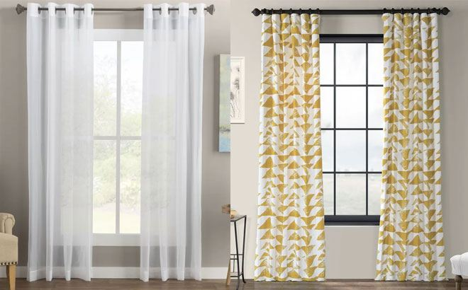 Up to 72% Off Curtains & Drapes at Wayfair - Starting at JUST $7 (Regularly $20)