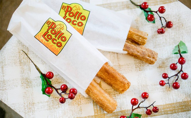 FREE El Pollo Loco Churros with Any Purchase (Today Only) - Don't Miss!