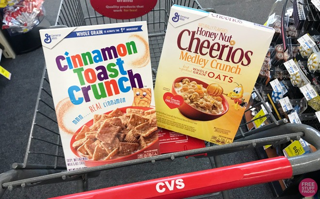 General Mills Cereals for ONLY 99¢ Each at CVS (Regularly $5.49) - Print Coupon Now!