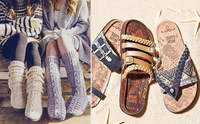 Muk Luks Women's Sandals, Boots & Flip-Flops Up to 80% Off - Starting at ONLY $7.99