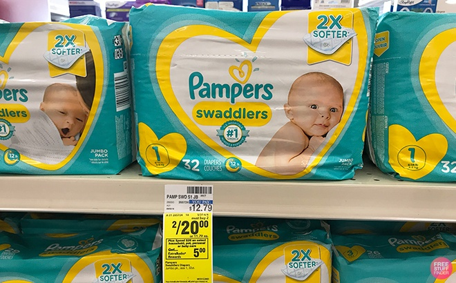 2 Pampers Jumbo Pack Diapers & Tide Detergent ONLY $3.64 Each at CVS (Reg $12)