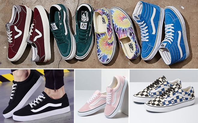 Vans Shoes Starting at ONLY $27 at Kohl's + FREE Shipping (Reg $65) – ENDS Today!